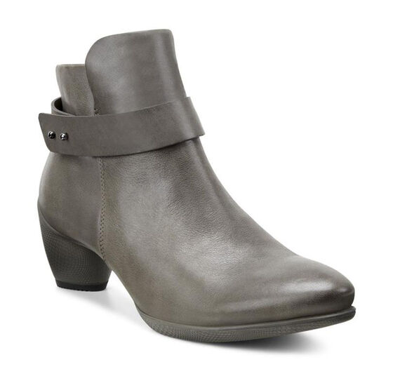 ECCO Sculptured 45 Ankle Boot (DARK CLAY/DARK CLAY)