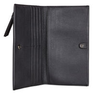SCULPTURED Large WalletSCULPTURED Large Wallet in BLACK (90000)