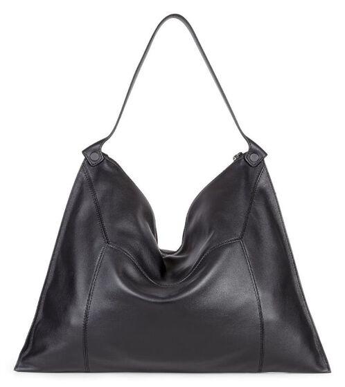 SCULPTURED Shoulder Bag2 (BLACK)