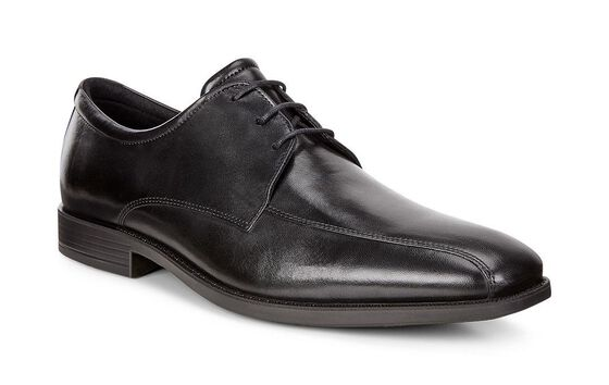 EDINBURGH Swirl Toe Tie (BLACK)
