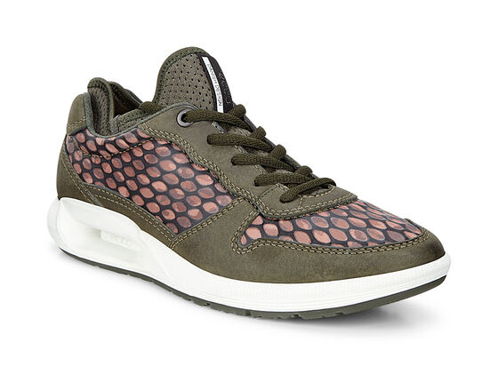 CS16 Ladies Sneaker Tie (DEEP FOREST/IKAT PRINT)