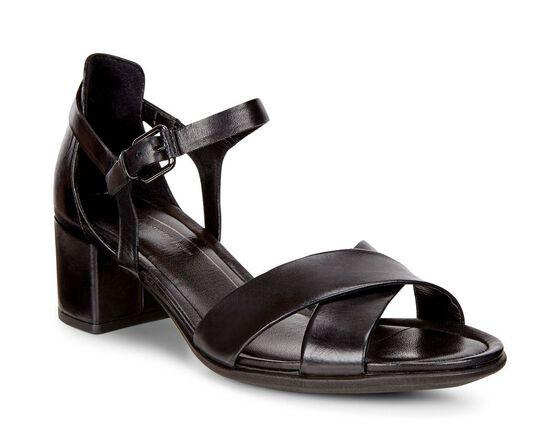 SHAPE 35 BLOCK Sandal (BLACK)