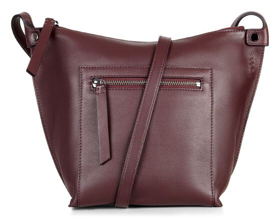 SCULPTURED Crossbody (RUBY WINE)