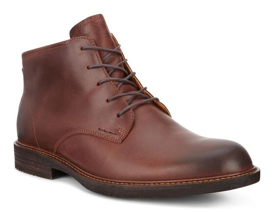 KENTON Plain Toe Boot (MINK)