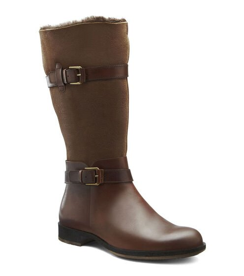 SAUNTER Double-face Boot (COCOA BROWN/COCOA BROWN)
