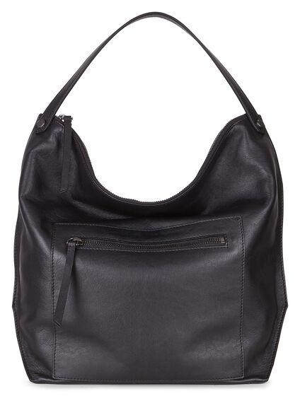 SCULPTURED Hobo Bag (BLACK)