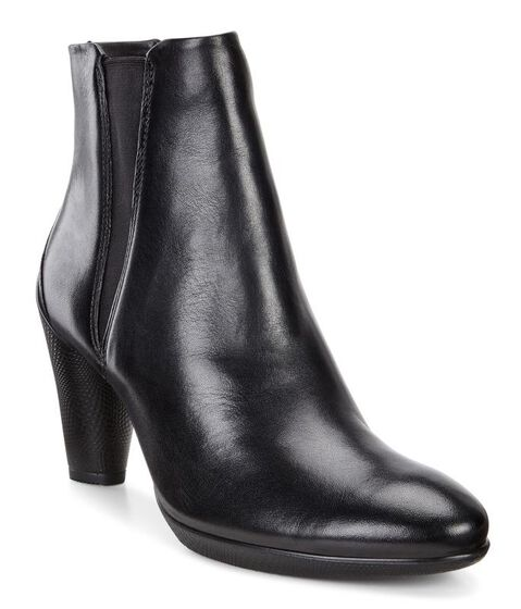 SCULPTURED Boots 75mm (BLACK)