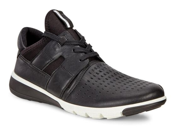 INTRINSIC2 Mens Lace Slip On (BLACK/BLACK)
