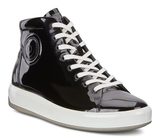 SOFT9 Patent High Top (BLACK)