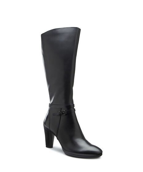 SCULPTURED Tall Boot 75mm (BLACK)