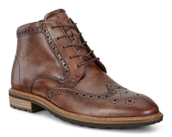 VITRUS I Wing Tip Boot (NATURE)
