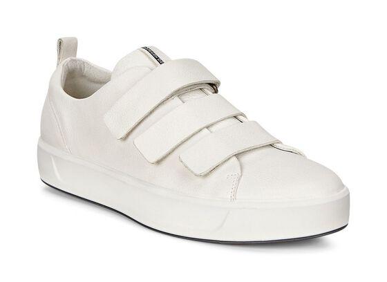 SOFT8 Ladies Strap Sneaker (WHITE)