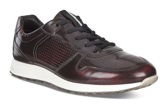 SNEAK Mens Brushed Sneaker (BORDEAUX)