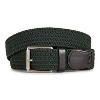 ECCO TOBIAS Casual Woven Belt (FOREST)
