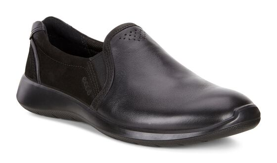 SOFT5 Slip On (BLACK/BLACK)