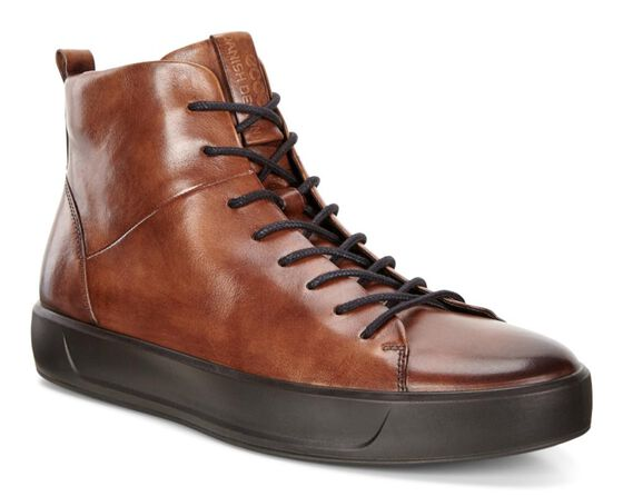 SOFT8 Mens Calf Leather High Top (LION)