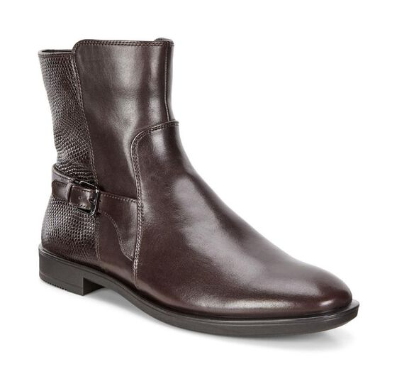 SHAPE M Brushed Ankle Boot 15mm (AMBER/BORDEAUX)