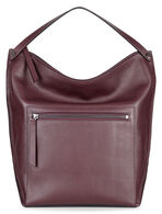 SCULPTURED Hobo Bag (RUBY WINE)