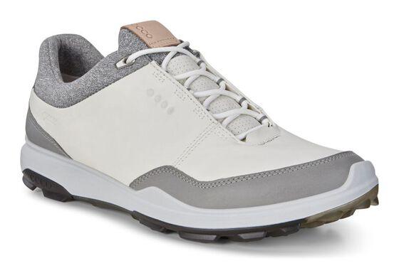 ECCO BIOM HYBRID3 Mens Golf GTX (WHITE/BLACK)