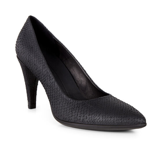 SHAPE 75 POINTY Pump (BLACK)