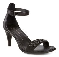 SHAPE 65 SLEEK Ankle Sandal (BLACK/BLACK)