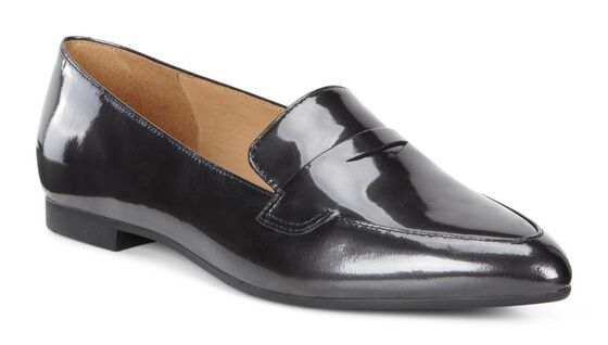 AKITA Point Toe Loafer  (BLACK)
