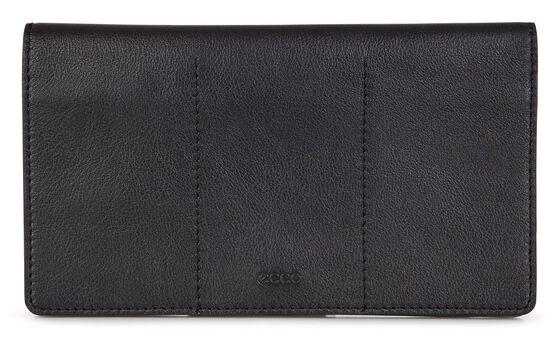 SCULPTURED Large Wallet (BLACK)