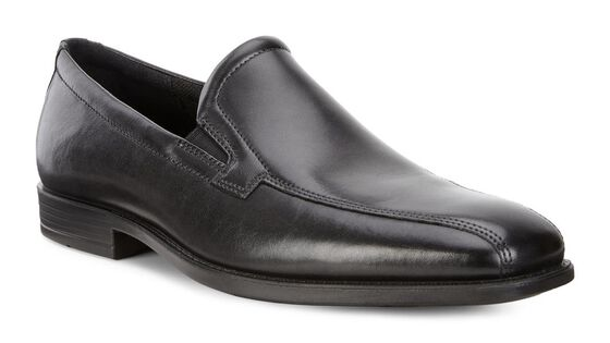 EDINBURGH Swirl Toe Slip On (BLACK)