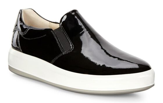 SOFT9 Sneaker Slip On (BLACK)