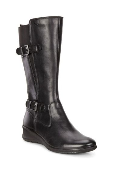 BABETT WEDGE Long Boot GTX (BLACK)