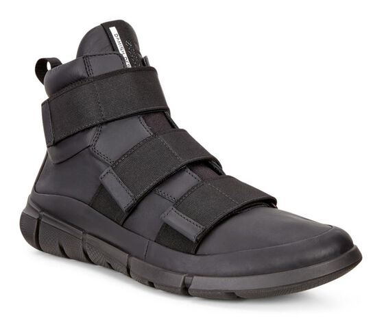 INTRINSIC1 Mens Leather Boot (BLACK)