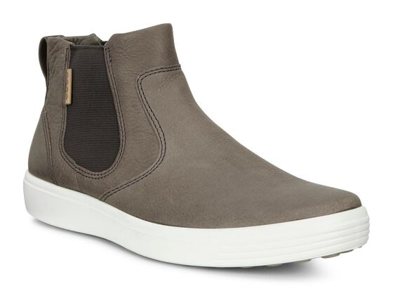 SOFT7 Mens Side Gore Boot (WARM GREY/LION)