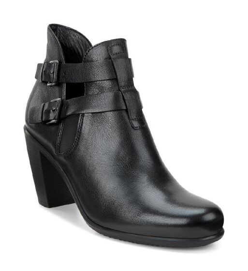 TOUCH Double Buckle Boot 75mm (BLACK)