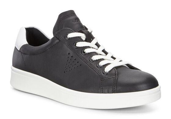SOFT4 Low Cut Sneaker (BLACK/WHITE)