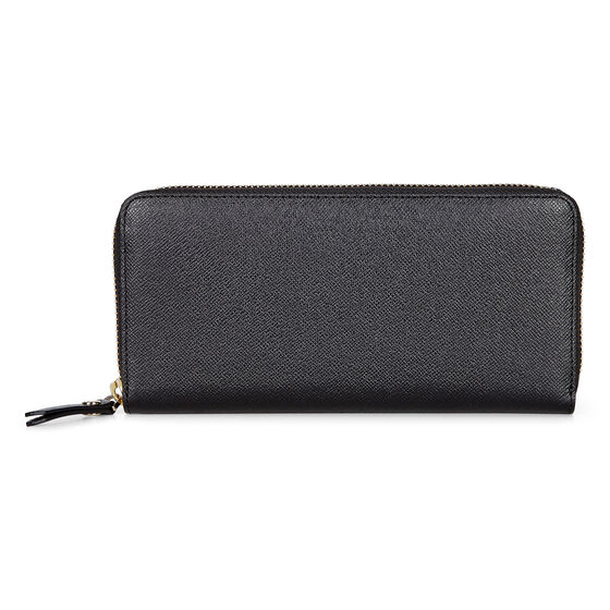 IOLA Large Zip Wallet (BLACK)