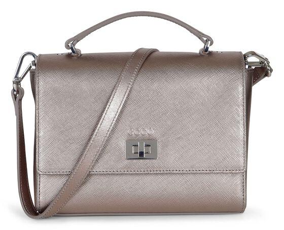 HAYA Mini Crossbody Bag (BROWNISH METALLIC)