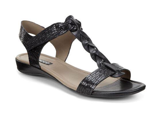 BOUILLON SANDAL II Knot Strap (BLACK/BLACK)