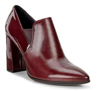 SHAPE POINTY BLOCK Bootie 75mm (MORILLO/BORDEAUX)