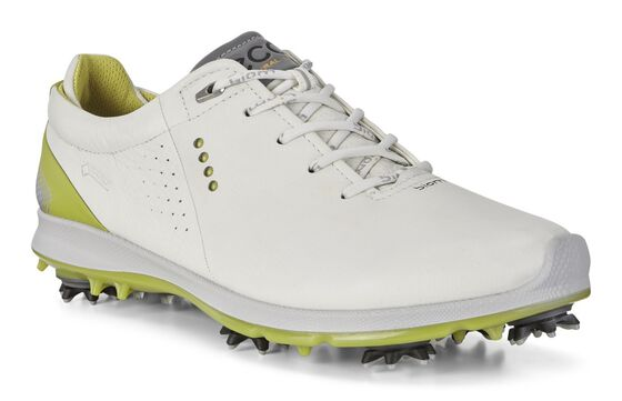 BIOM G2 Flex Mens Golf Softspike GTX (WHITE/KIWI)