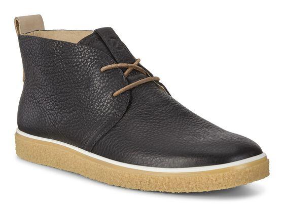 CREPETRAY Mens Desert Boots (BLACK/POWDER)
