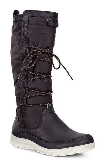ECCO BABETT BOOT High-cut Boot (BLACK/BLACK)