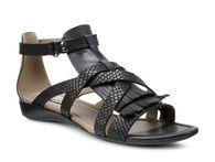 BOUILLON II Gladiator Sandal (BLACK/BLACK)