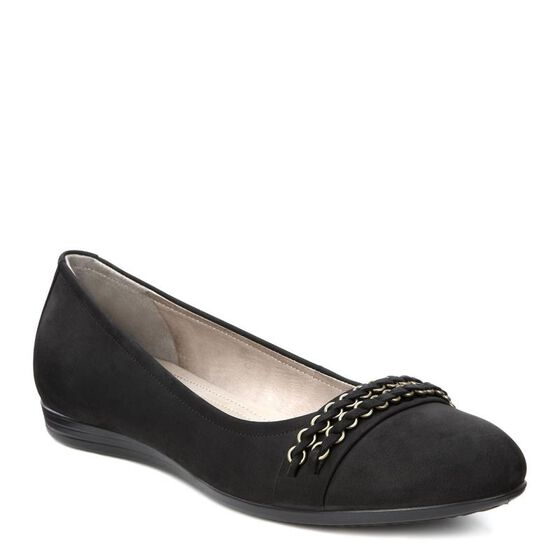 Touch Ballerina Flats 15mm (BLACK)