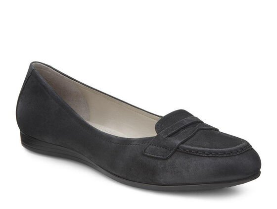Touch Penny Loafer 15mm (BLACK)