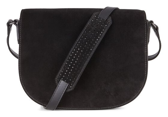 JOLIET Medium Saddle Bag (BLACK)