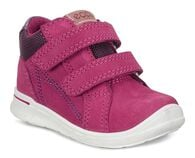 ECCO FIRST Velcro Tender (RED PLUM)