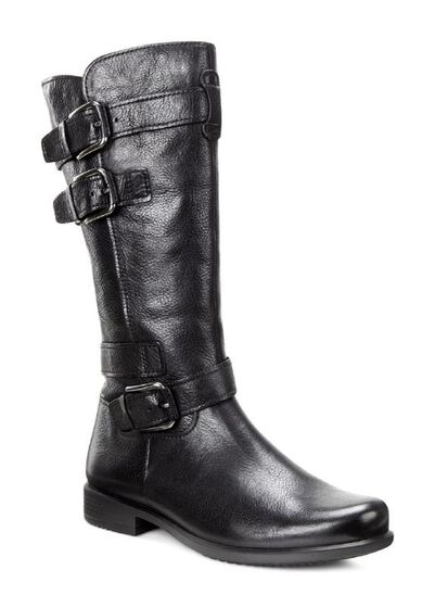 Touch Buckle Boot High 25mmTouch Buckle Boot High 25mm BLACK (02001)