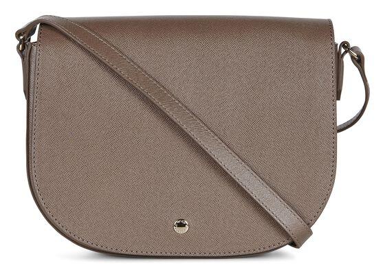 IOLA Medium Saddle Bag (DARK CLAY)