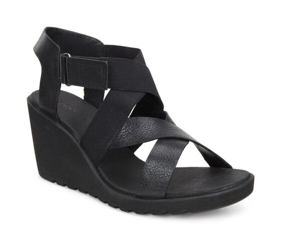 FREJA Wedge Sandal Strap (BLACK)