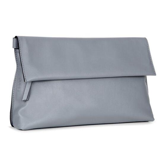 SCULPTURED Clutch Bag (TITANIUM)